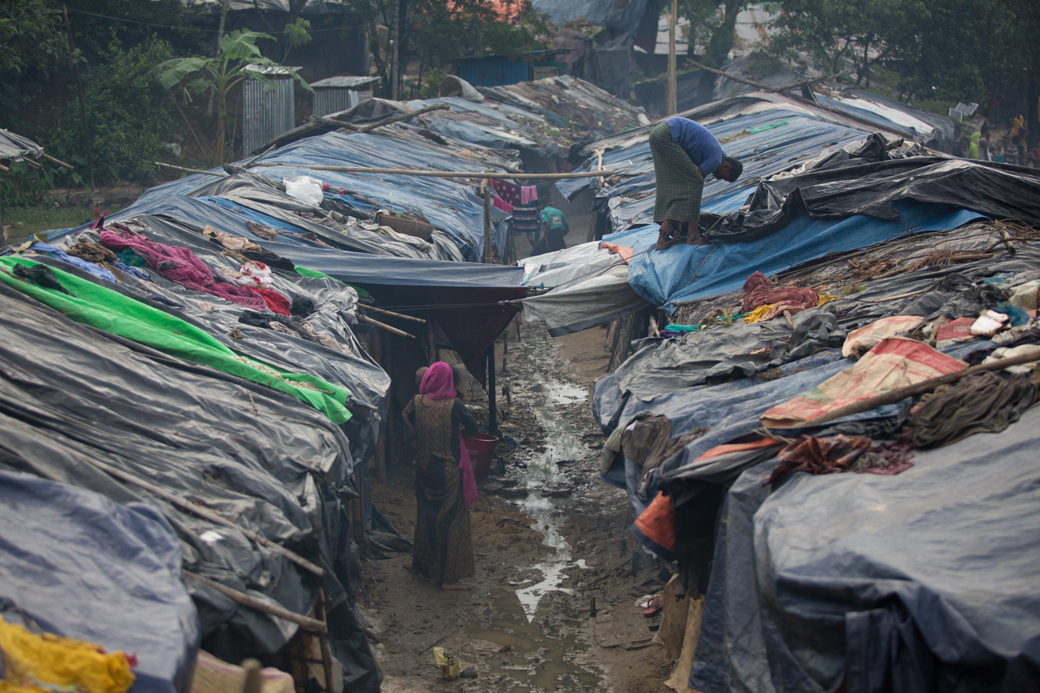 'The challenge is the fact that refugees are settling in an area that is without infrastructure,' said Matt Kertman, a spokesman for BRAC, a Bangladesh-based NGO. Bangladesh is one of the most congested countries with 160 million people living in a place roughly the size of Iowa.