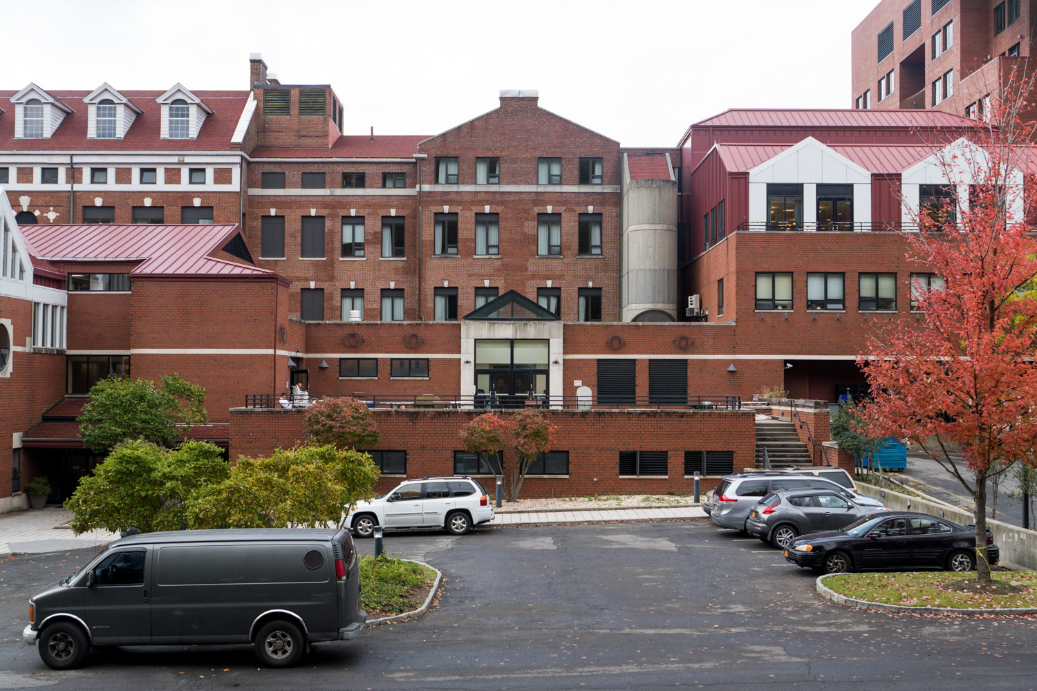 Five residents at the Hebrew Home at Riverdale were treated for Legionnaires' disease, a water-borne type of pneumonia that typically can't spread from person to person.