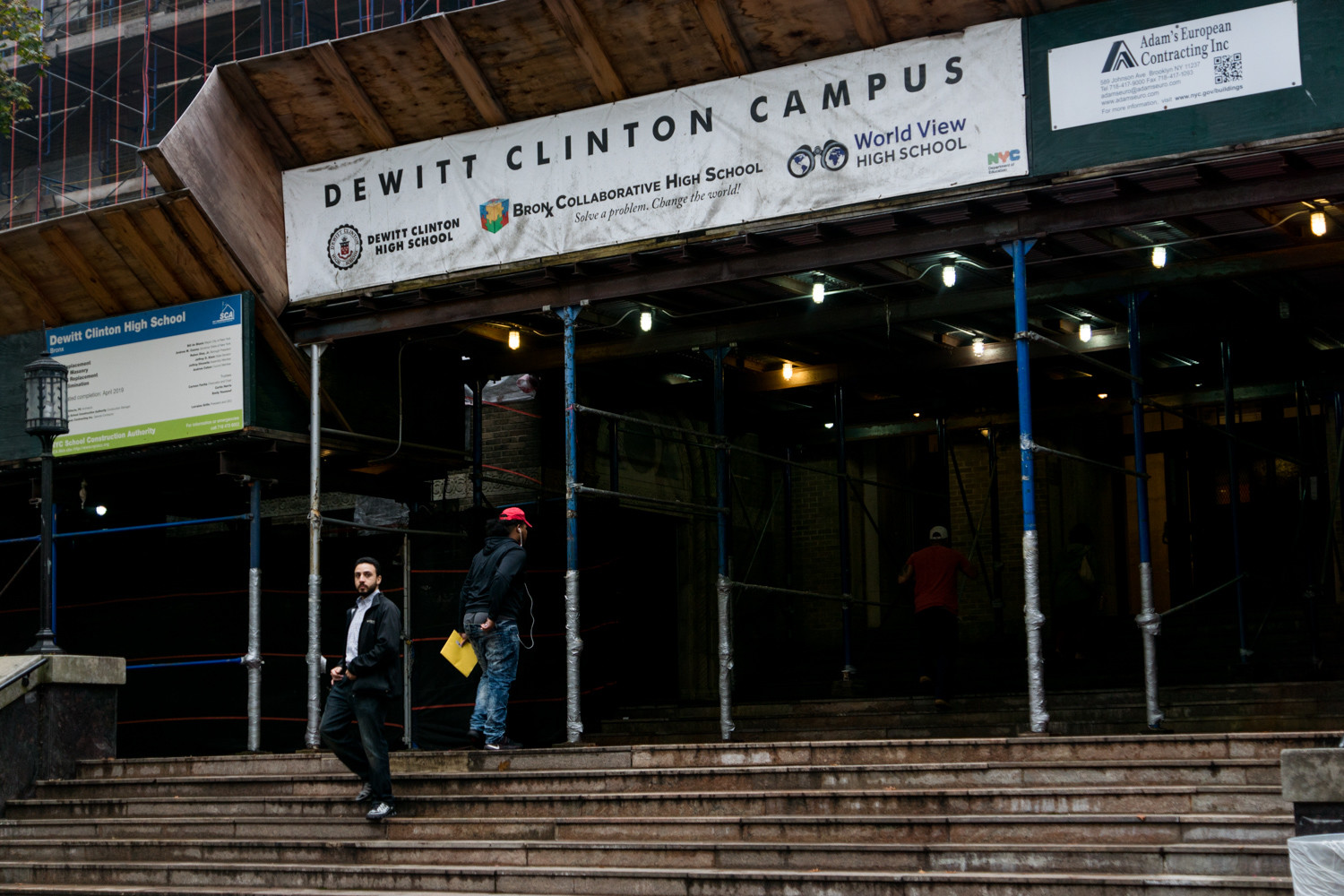 The state's education department recently announced DeWitt Clinton High School would remain under the control of the city's education department saying the school made improvements as it worked to reverse its low four-year graduation rate.