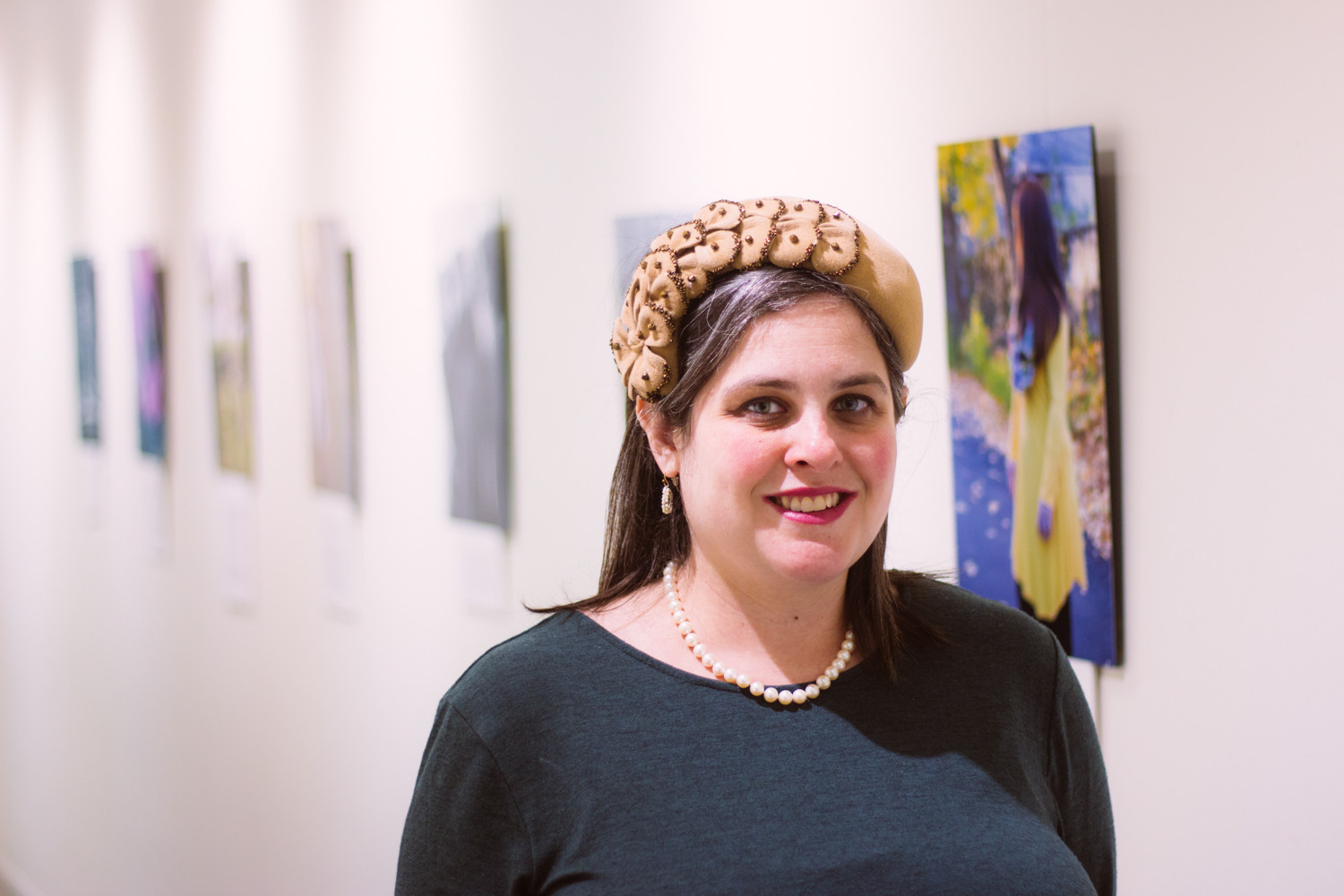Aviva Braun works as a psychotherapist, and her patients often deal with body image and eating issues. Her photo exhibition at The Riverdale Y explores women's relationship with their bodies at every decade of life.
