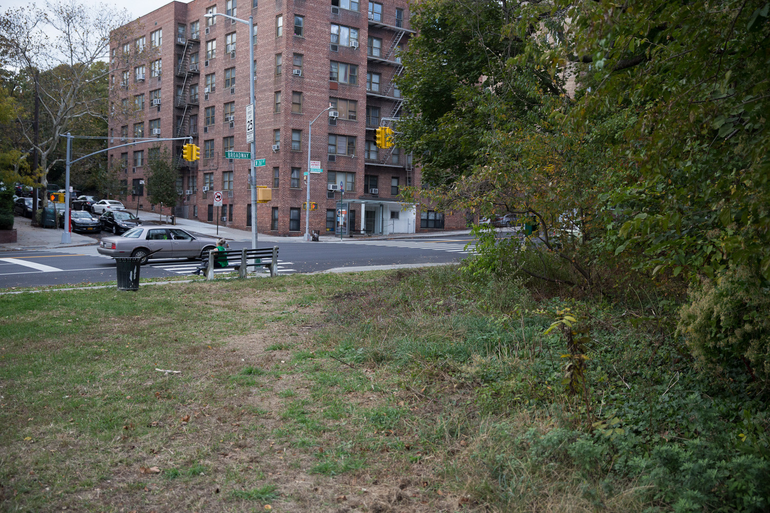 The parks department plans to construct an entrance to Van Cortlandt Park at West 261st Street and Broadway that would include more benches, tables, greeting gardens, signage and improved pathways. Some residents say they like this part of the park the way it is and are wary of any changes that might attract large, rowdy groups of people to their local green area.