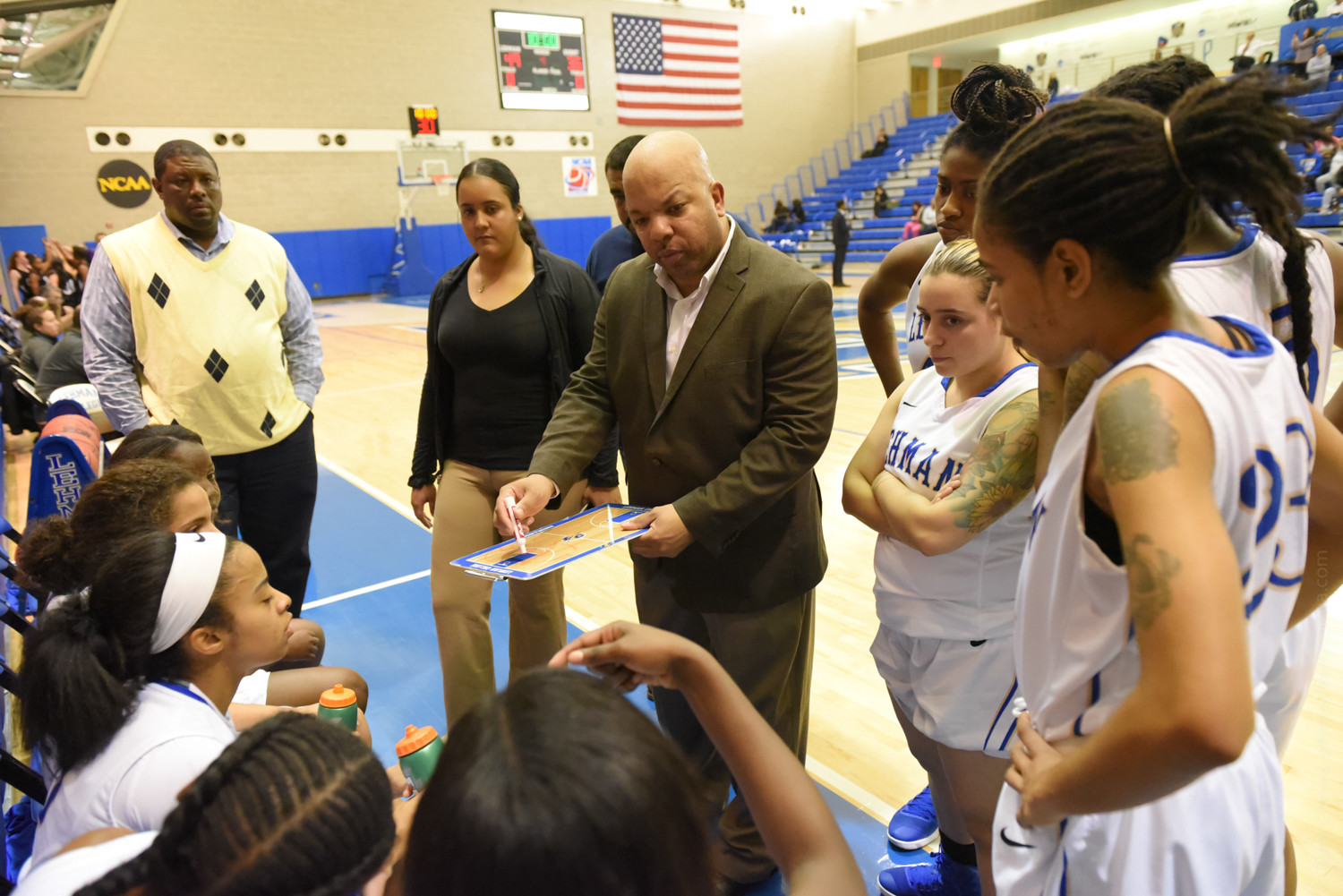 Eric Harrison is entering his 20th season as head coach of the Lehman College women's basketball team, and is currently just 10 wins shy of 300 for his career.