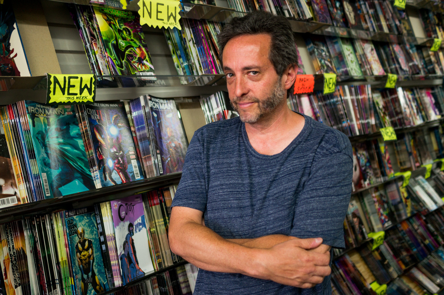 A longtime collector of comic books, Neil Shatzoff opened Magnum Comics and Cards in 1991, but in recent years, interest in comic books has waned. The shop will close at the end of the year.