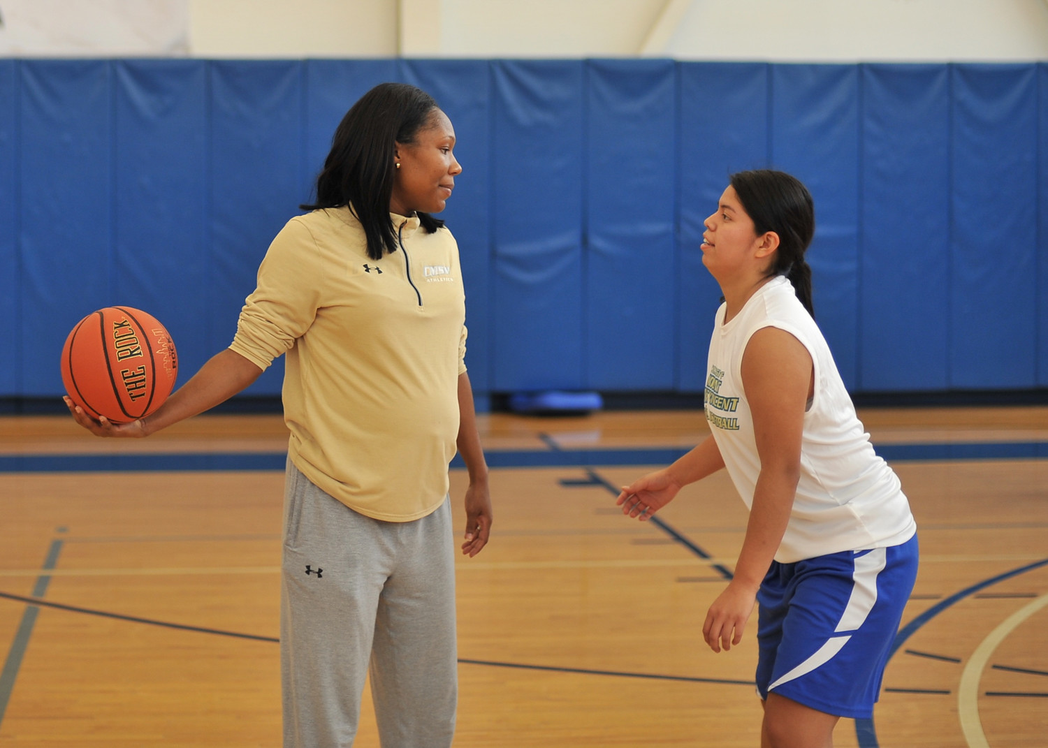 New Mount Saint Vincent women's basketball coach Tiffany Smart has hit the ground running since being hired in September.