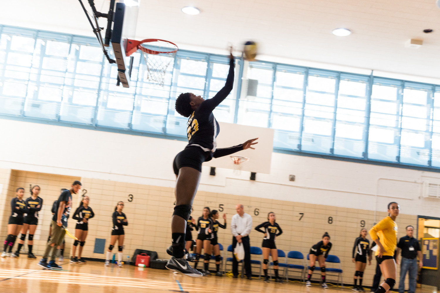 RKA senior Sommer Code was a pivotal cog in the Lady Tigers run to the PSAL volleyball championship for a second straight season.