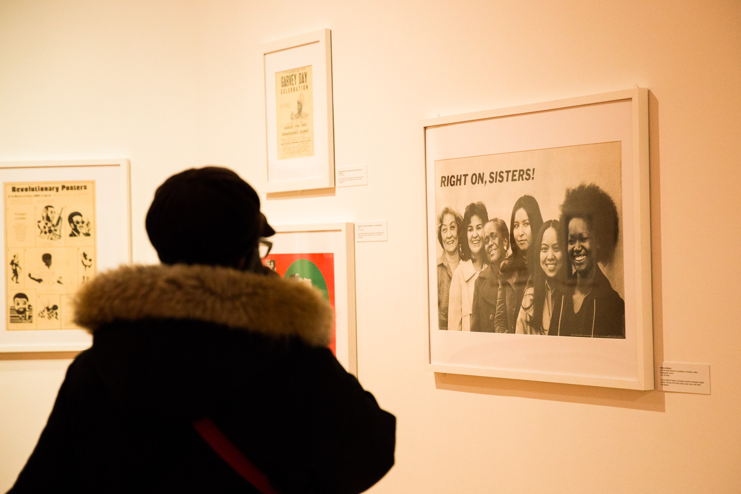 The 'Power in Print' exhibition at the Schomburg Center for Research in Black Culture in Harlem showcases the posters of black power movement, which took place during the 1960s and 1970s.  During the movement, African-Americans fought against racial oppression, urged economic self-sufficiency, and pushed schools to add black studies courses during the 1960s and 1970s.