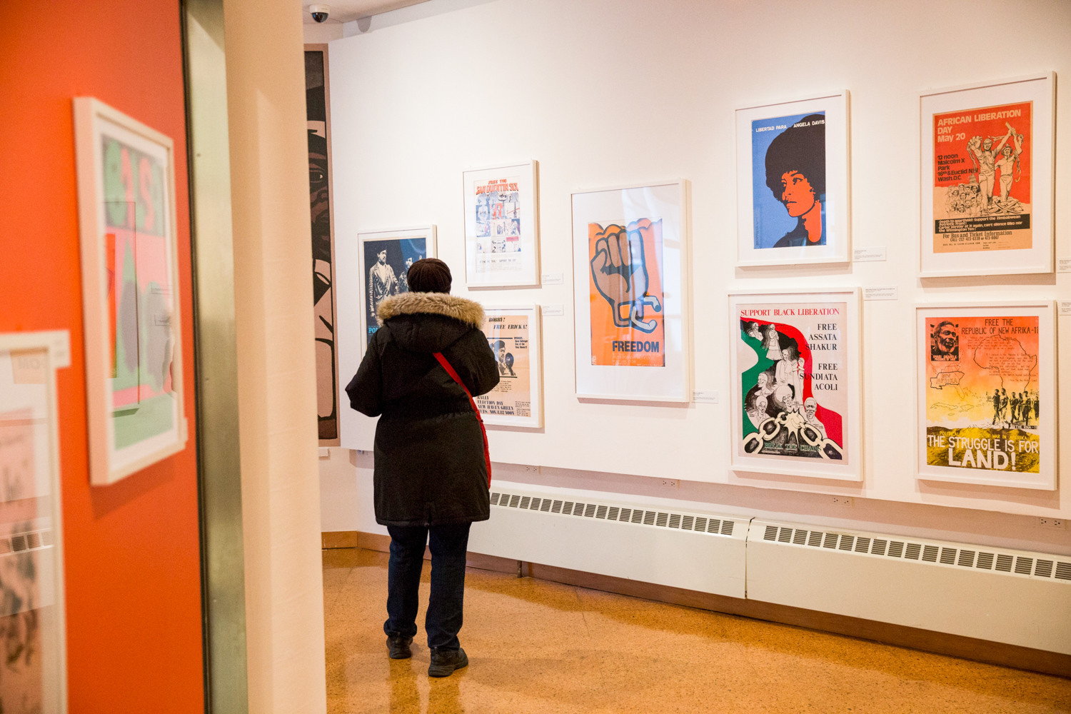 The posters of the black power movement were 'the social media and digital design of the 1960s and 1970s,' says Sylviane Diouf, the exhibition's co-curator. It was a way to get the message out to the community and inform them of events like art and culture gatherings and the support the freeing of political prisoners.