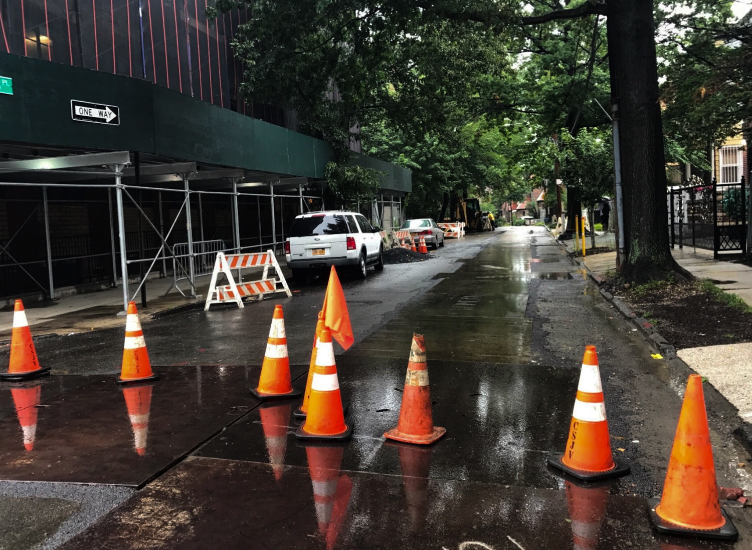 While Con Edison considers its repair work vital, residents in Community Board 8 have complained of unannounced street closures that affect traffic in the area.