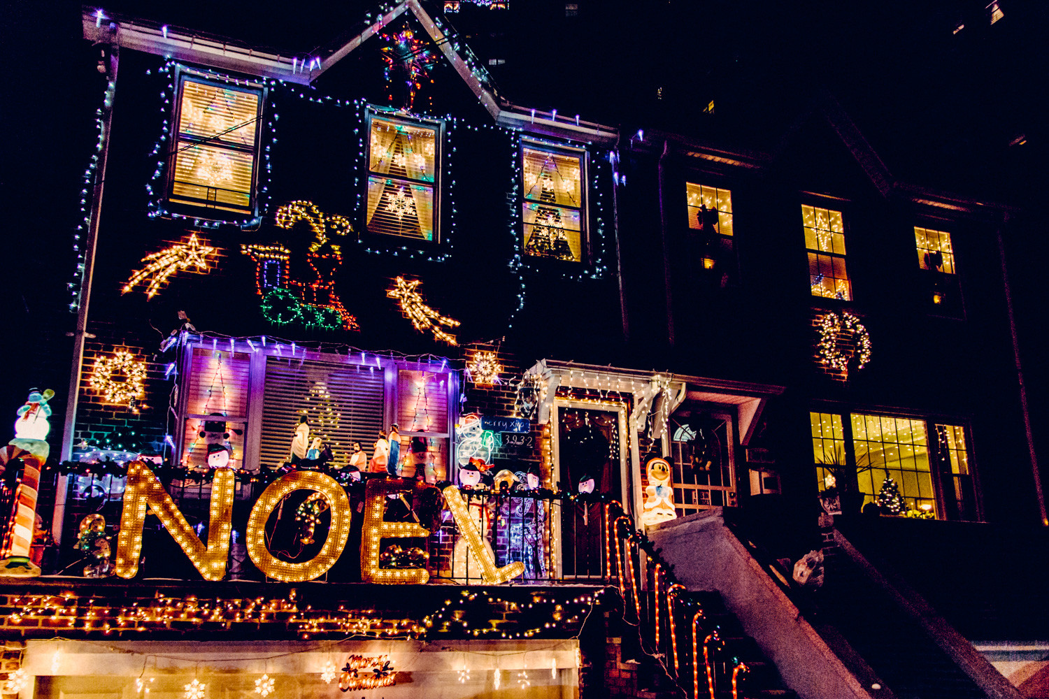 Some houses go all out with Christmas light displays, showing the neighborhood how it's done with elaborate setups. Christmas lights date back to 1882. Inventor Edward Johnson was the first person to put together a string of electric lights. Before that, candles were used to light trees, but that was a huge fire hazard.