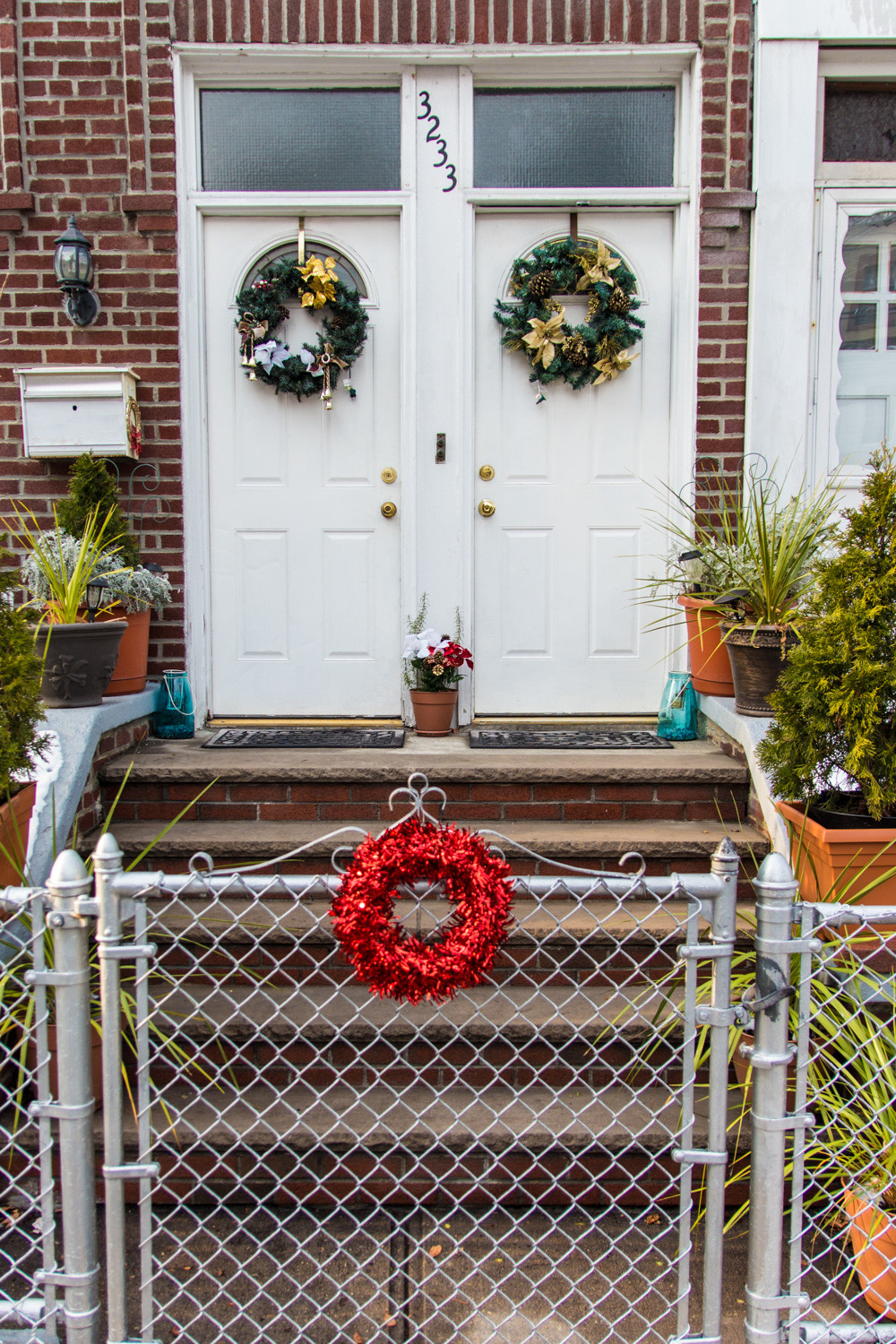 Wreaths are a common fixture for households celebrating Christmas. Given their circular nature with no beginning or end, wreaths symbolize the infinite nature of God.
