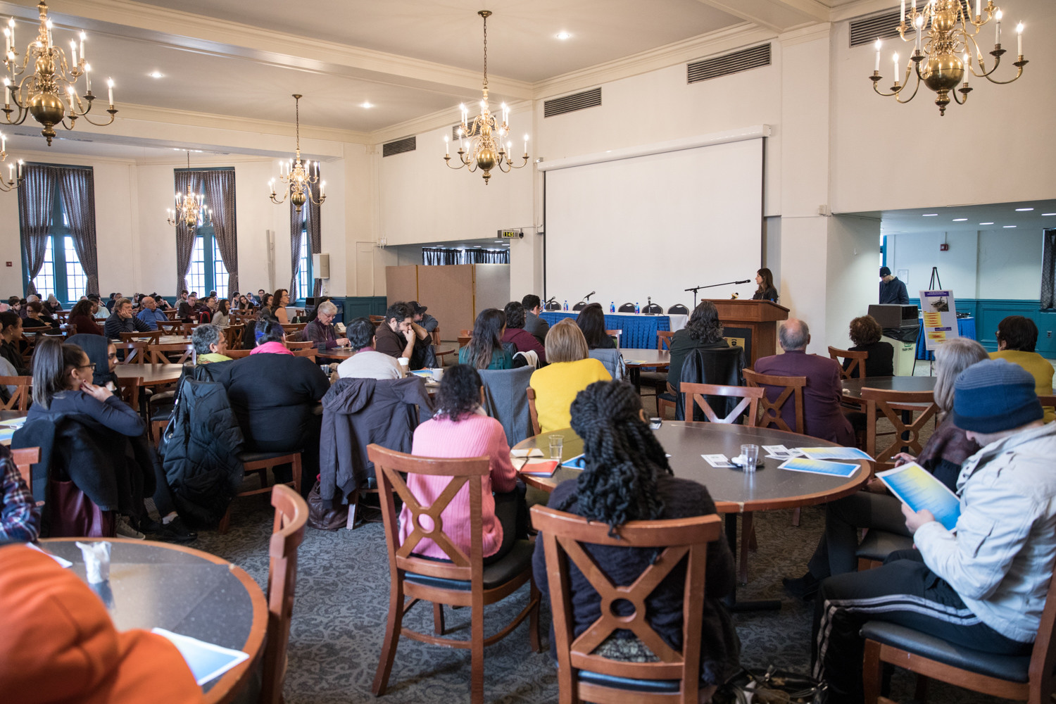 Lehman College organized a one-day conference on the crisis facing Puerto Rico after Hurricane Maria as a matter so urgent, the school held the conference earlier this month as a semester wound down instead of waiting for spring.