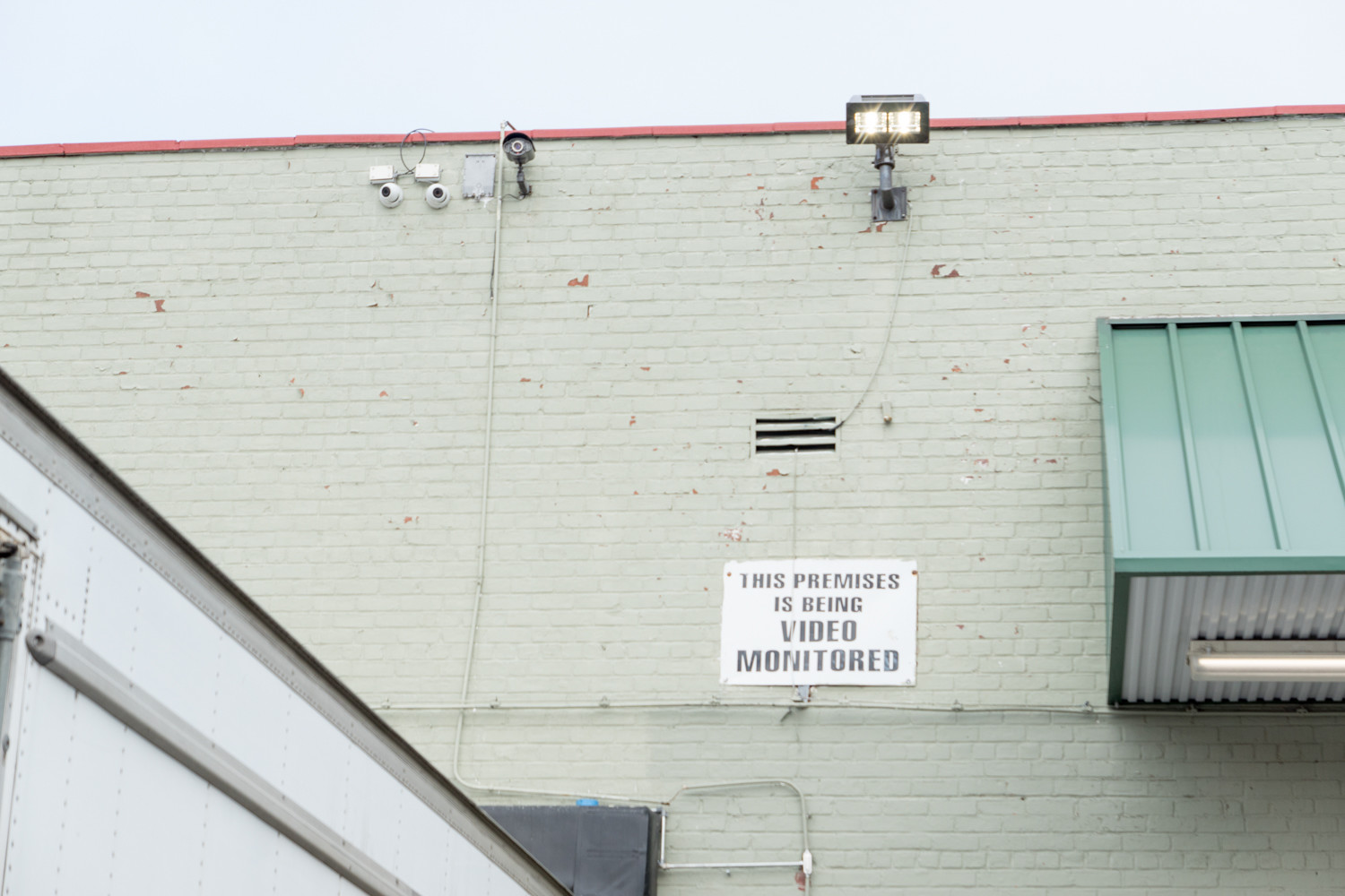 While there are security cameras outside the Key Food supermarket at 540 W. 235th St., there are none inside.