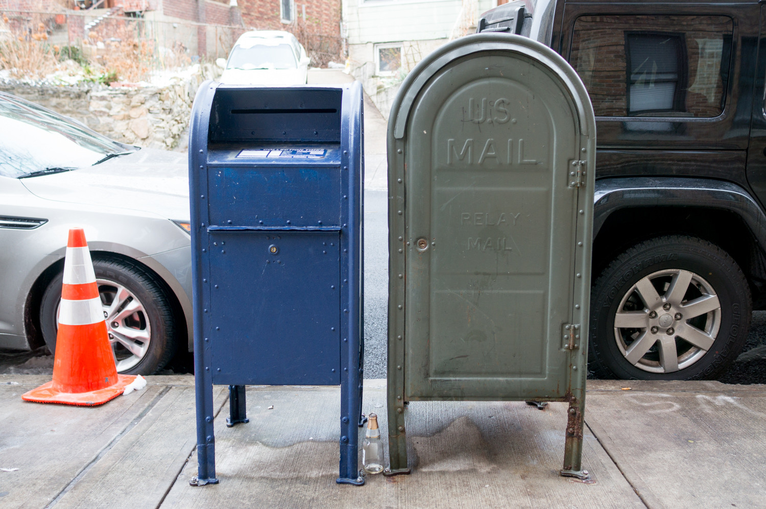 Marble Hill residents have complained about mailbox fishing, an old criminal tactic that involves using a sticky substance and a coat hanger or wire to steal mail from inside a mailbox.