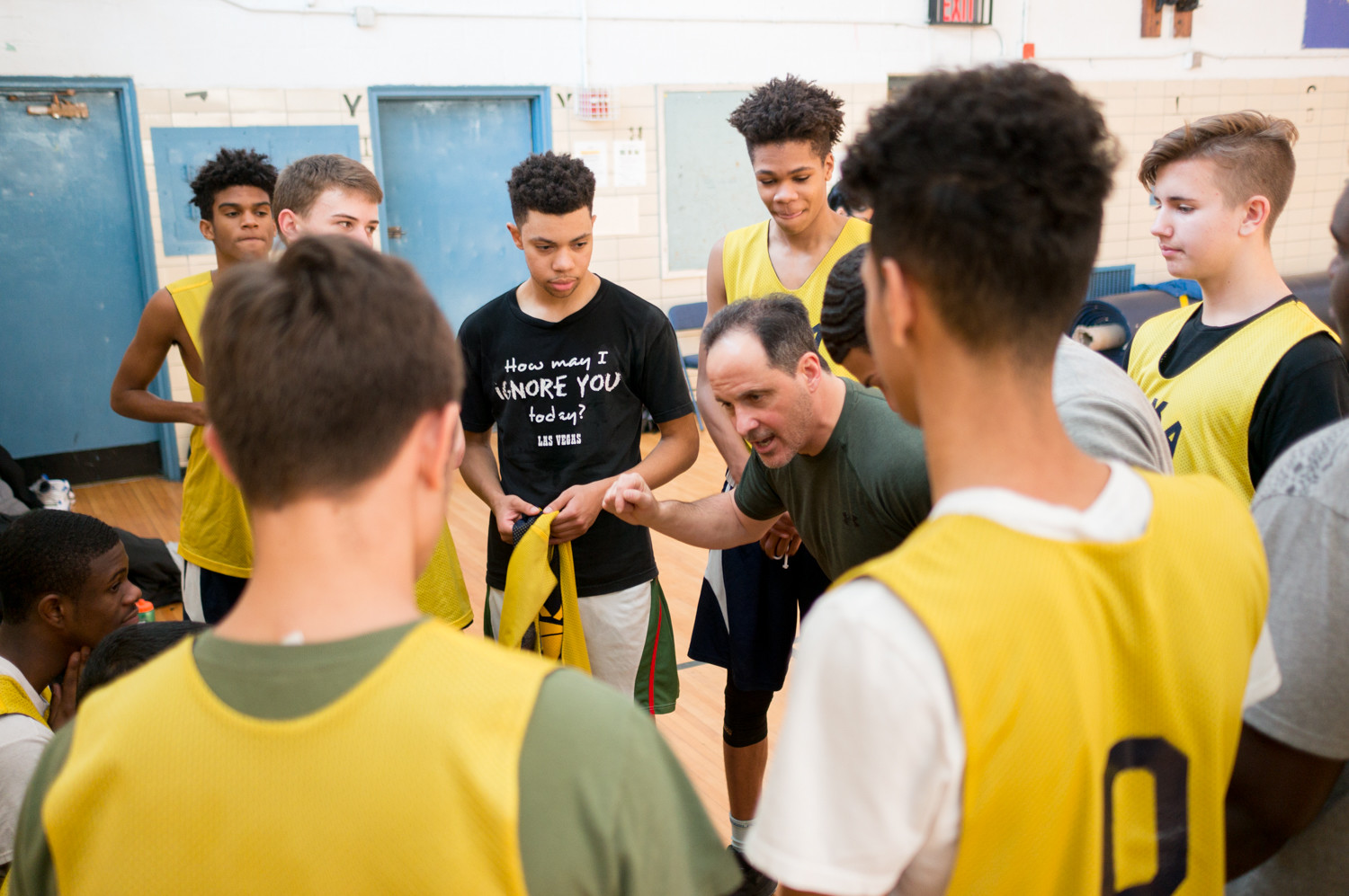 After leading RKA's volleyball team to the city championship, John Reingold is looking to make a similar splash with the Tigers boys basketball program.