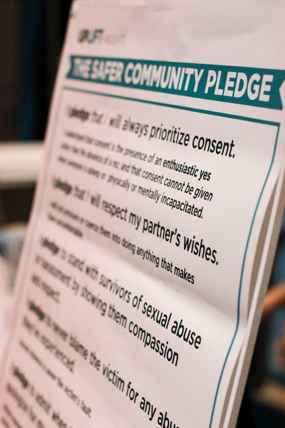Uplift's 'Safer Community Pledge' offers ways for people to build a safer, more inclusive community.
