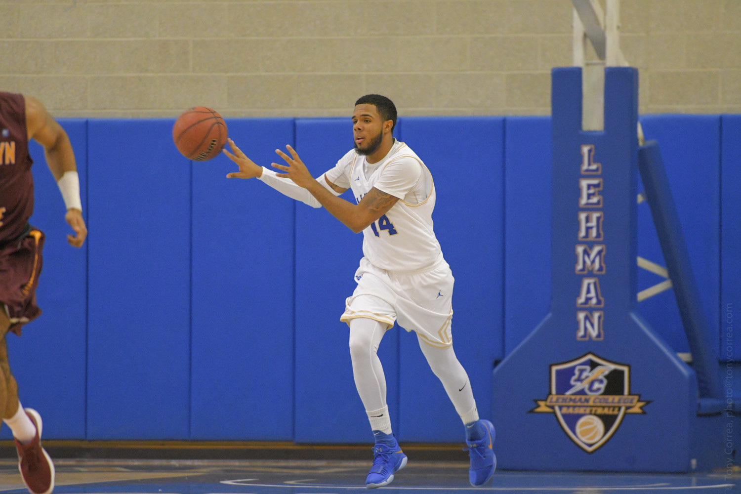 Lehman senior Jean Marcial poured in a game-high 23 points in the Lightning's 88-63 victory over York last week.