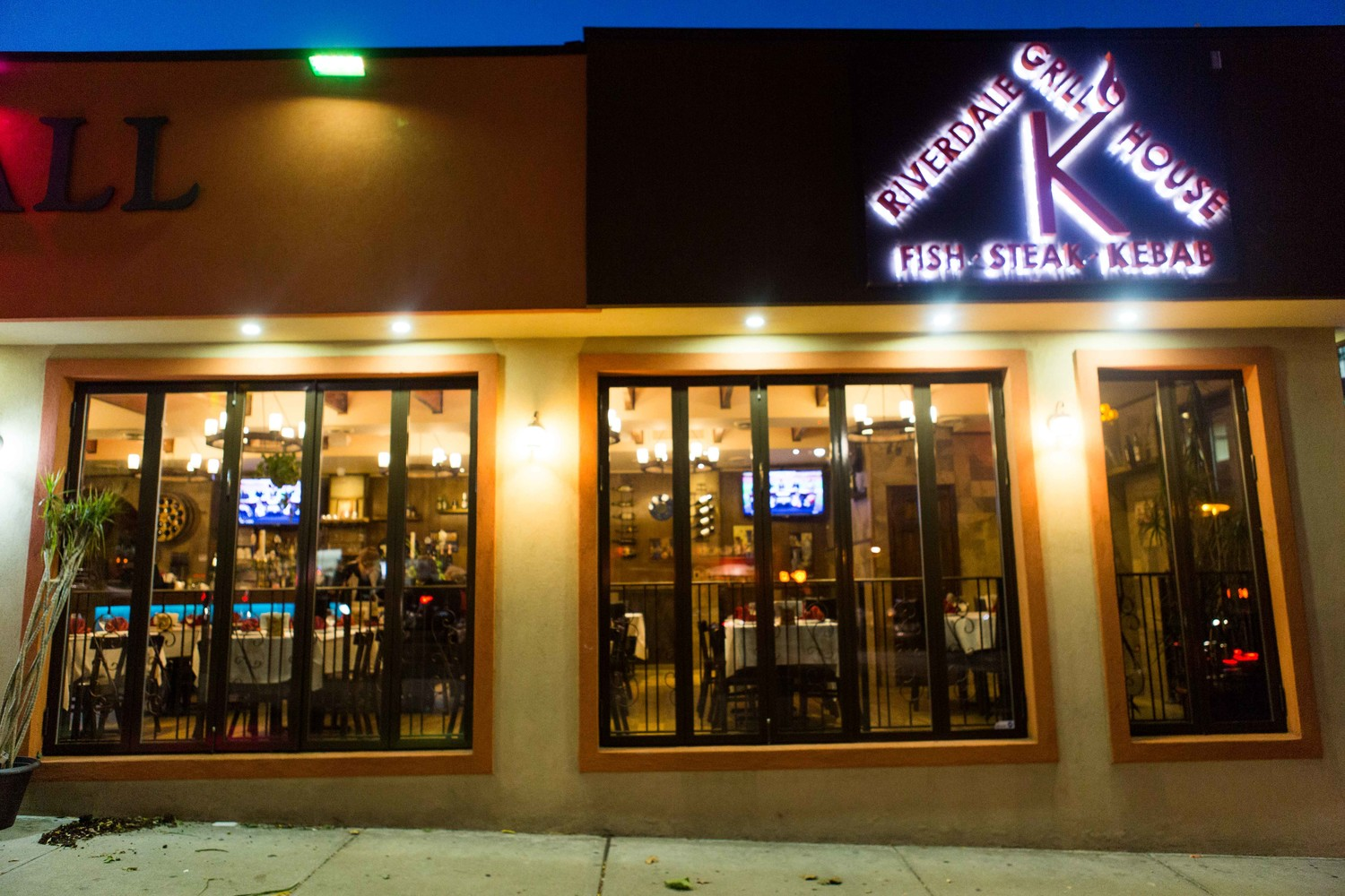 Dmitriy Berezovskiy, owner of North Riverdale's high-end glatt kosher K Grill House, filed a lawsuit against his landlord, Moses Marx, and the local rabbinical council alleging they tried drive him out of business — because, among other reasons, his wife isn't Jewish.