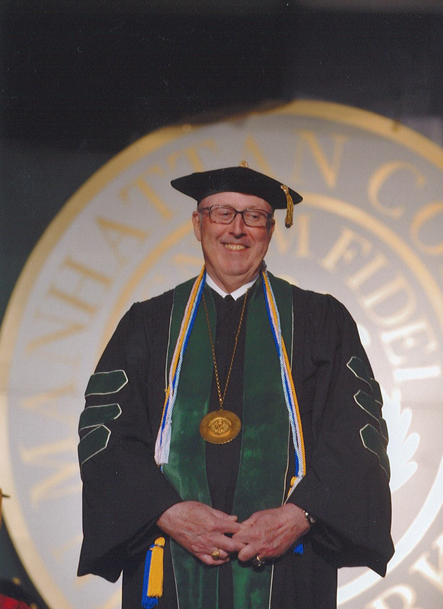 Before coming to Manhattan College, Brother Thomas Scanlan worked as vice chancellor and chief executive of Bethlehem University in Palestine. Scanlan died Feb. 4 at 72.