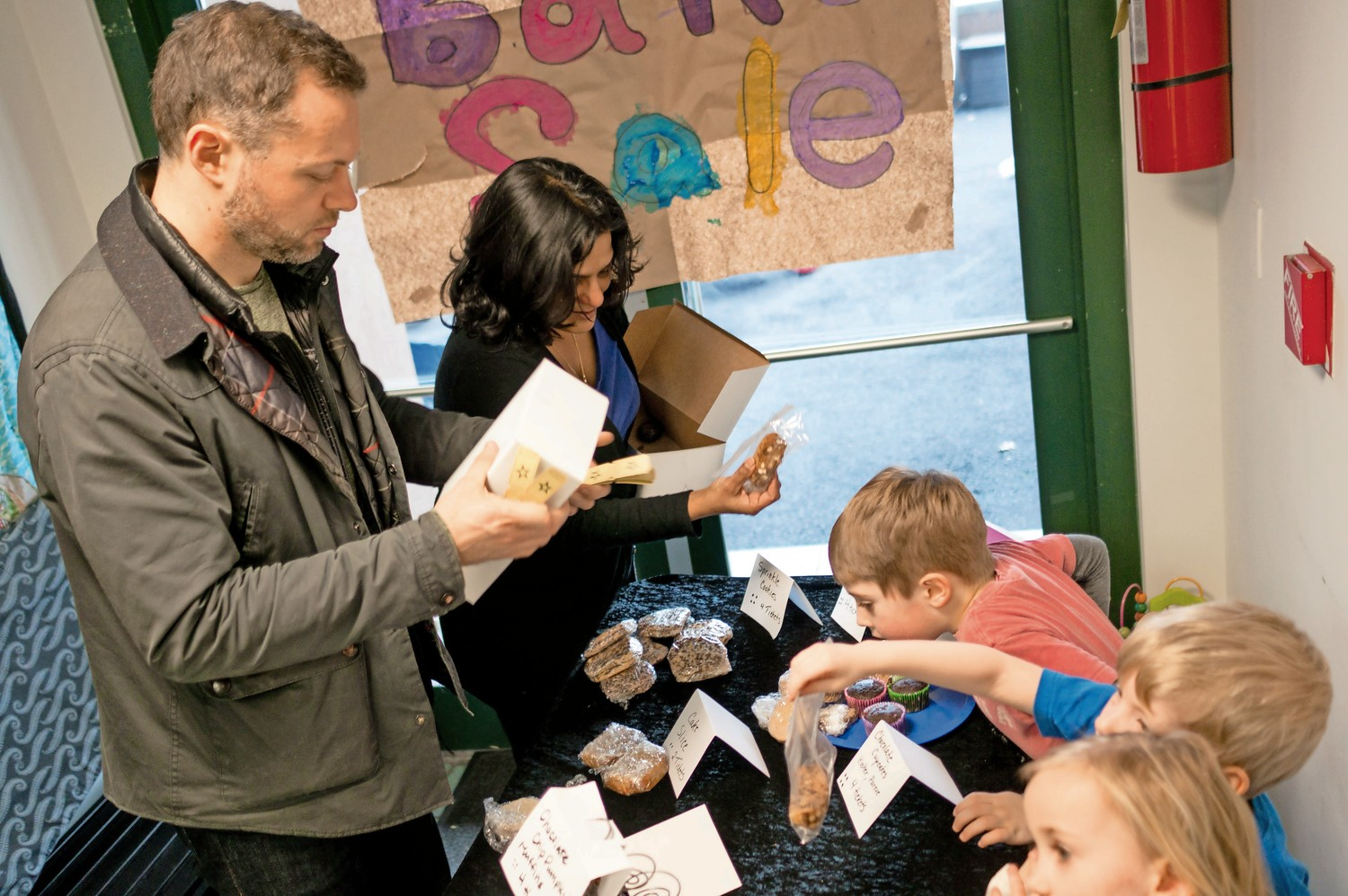Students At Riverdale Nursery School And Family Center Baked Goods To Raise Money For Mosaic