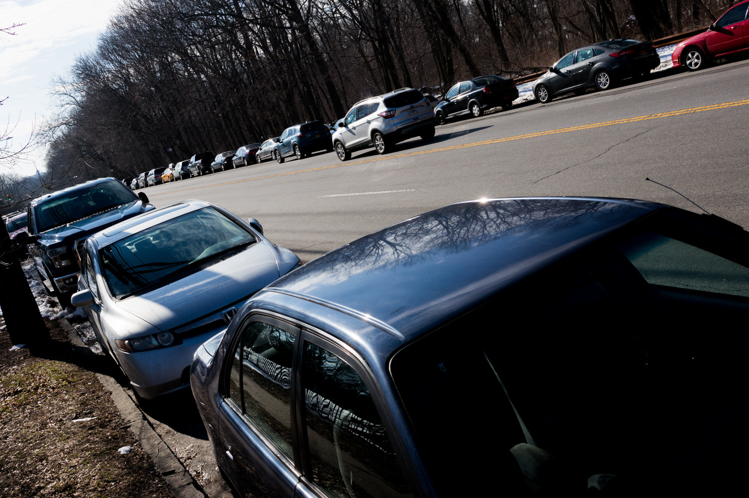 Cars parked along Jerome Avenue near Van Cortlandt Park are particularly susceptible to break-ins, according to a recent study by the app SpotAngels.