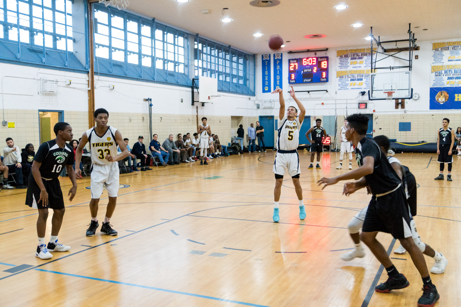 It's been a long road back for Riverdale/Kingsbridge Academy's Jalen Cuello after a heart scare sidelined him most of the season.