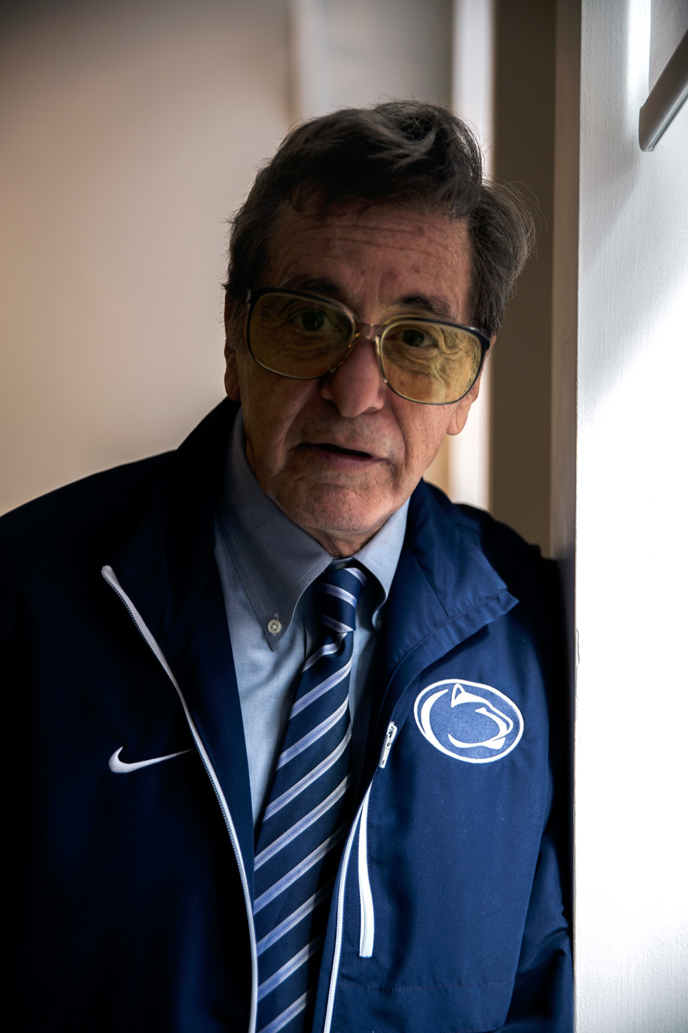 Al Pacino stars as Joe Paterno in the film 'Paterno.'