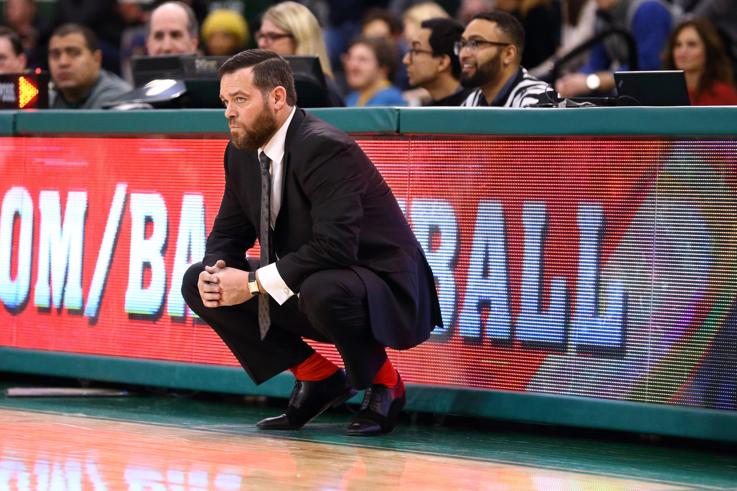 Manhattan College head coach Steve Masiello says good-bye to three 1,000-point scorers after the Jaspers' season ended in the MAAC tournament quarterfinals.