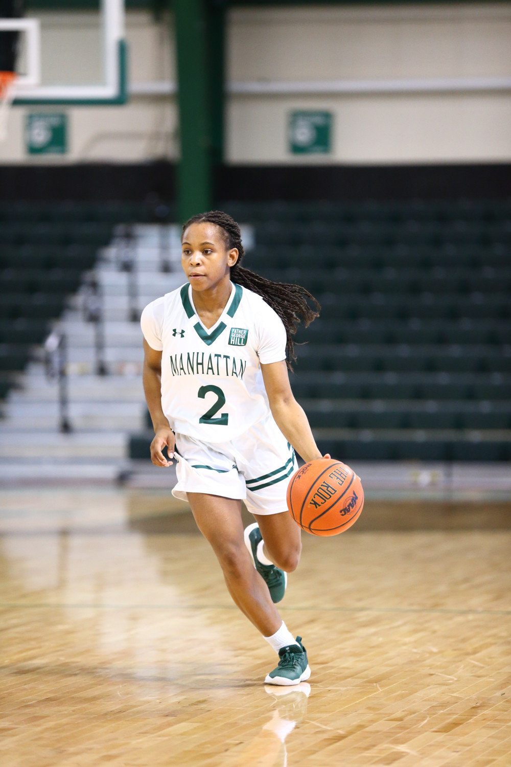 A strong season from Manhattan sophomore guard Gabby Cajou led to her being awarded the Metro Atlantic Athletic Conference Sixth Man of the Year.
