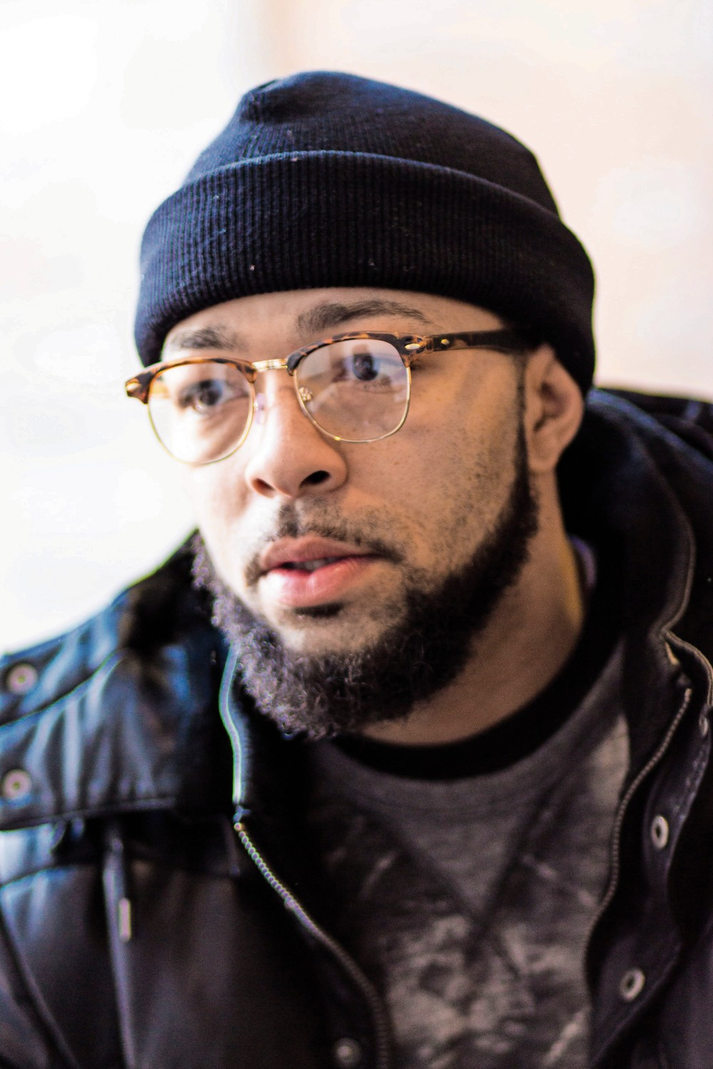 Born in the Bronx and raised between there and Harlem, Damian Stapleton was arrested for robbery and sent to Rikers Island to await trail in 2007. During his time at the city jail, Stapleton once witnessed the culture of violence that has prompted city officials to close Rikers within the next decade. He spoke on a panel about mass incarceration last month at Lehman College.