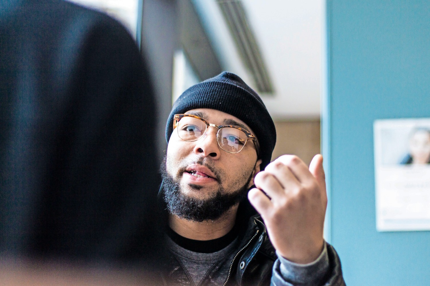 Featured in the documentary 'Rikers: An American Jail,' Damian Stapleton recently spoke during a screening and panel discussion of the film at Lehman College. Stapleton was a former inmate at the notoriously violent city jail in 2007 before he was convicted of robbery and sent to an upstate prison.