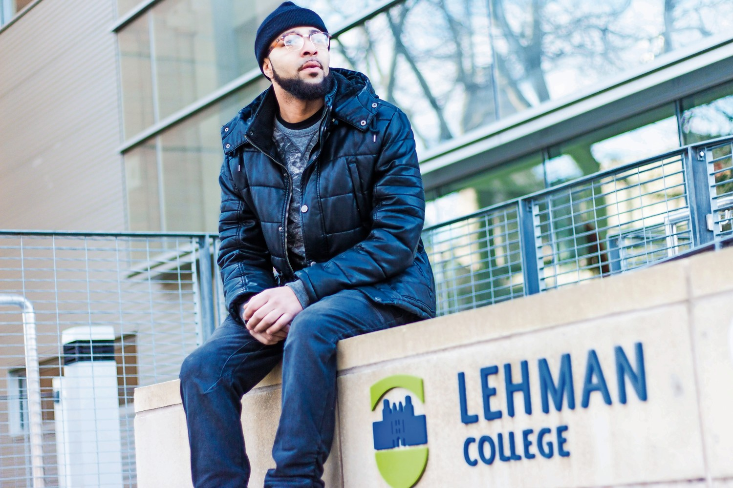 Damian Stapleton was one of several former inmates at Rikers Island featured in the documetary film 'Rikers: An American Jail.' He also spoke at Lehman College on Feb. 28 as part of a panel on mass incarceration.
