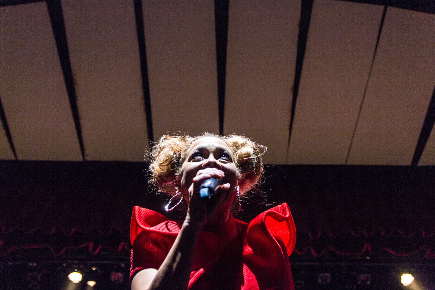Betty Lebron of the freestyle music trio Sweet Sensation was one of several artists to take the stage during this year's Forever Freestyle at Lehman Center on March 3.