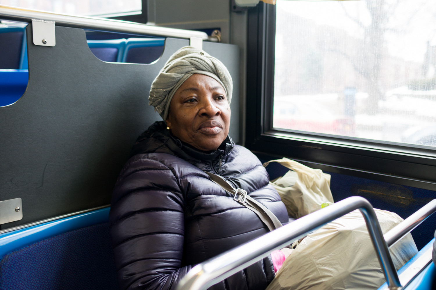 Elizabeth Bermudez relies on public transportation to get from where she lives in Morrisania to her job as a home health aide in Riverdale. The cost of all those rides adds up, and Bermudez says she would welcome reduced fares.