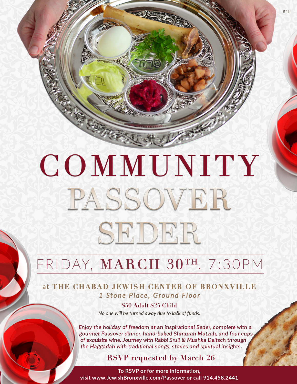 Community Passover Seder | The Riverdale Press