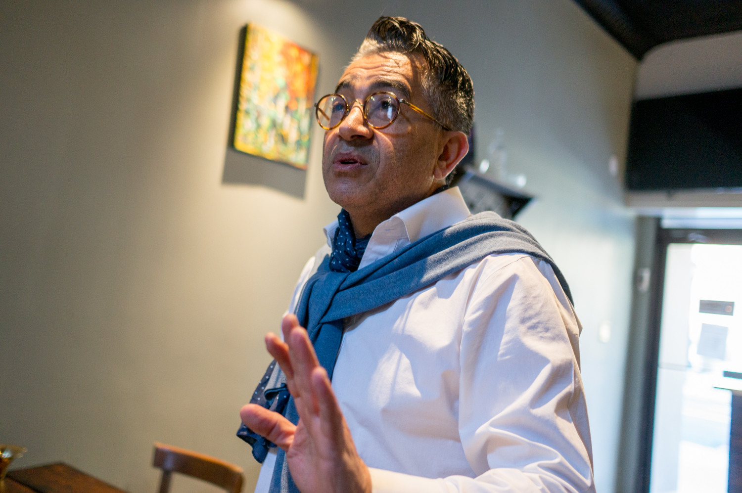Nando Ghorchian talks about the challenges of running multiple restaurants in the new location for Caffe Buon Gusto.