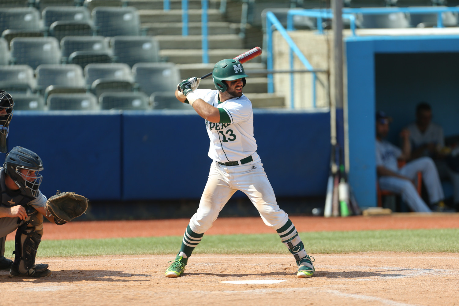 Manhattan College catcher Fabian Peña, picked by Baseball America newspaper as the top pro prospect in the Metro Atlantic Athletic Conference, is enjoying another scintillating season with the Jaspers — one that could be his last.