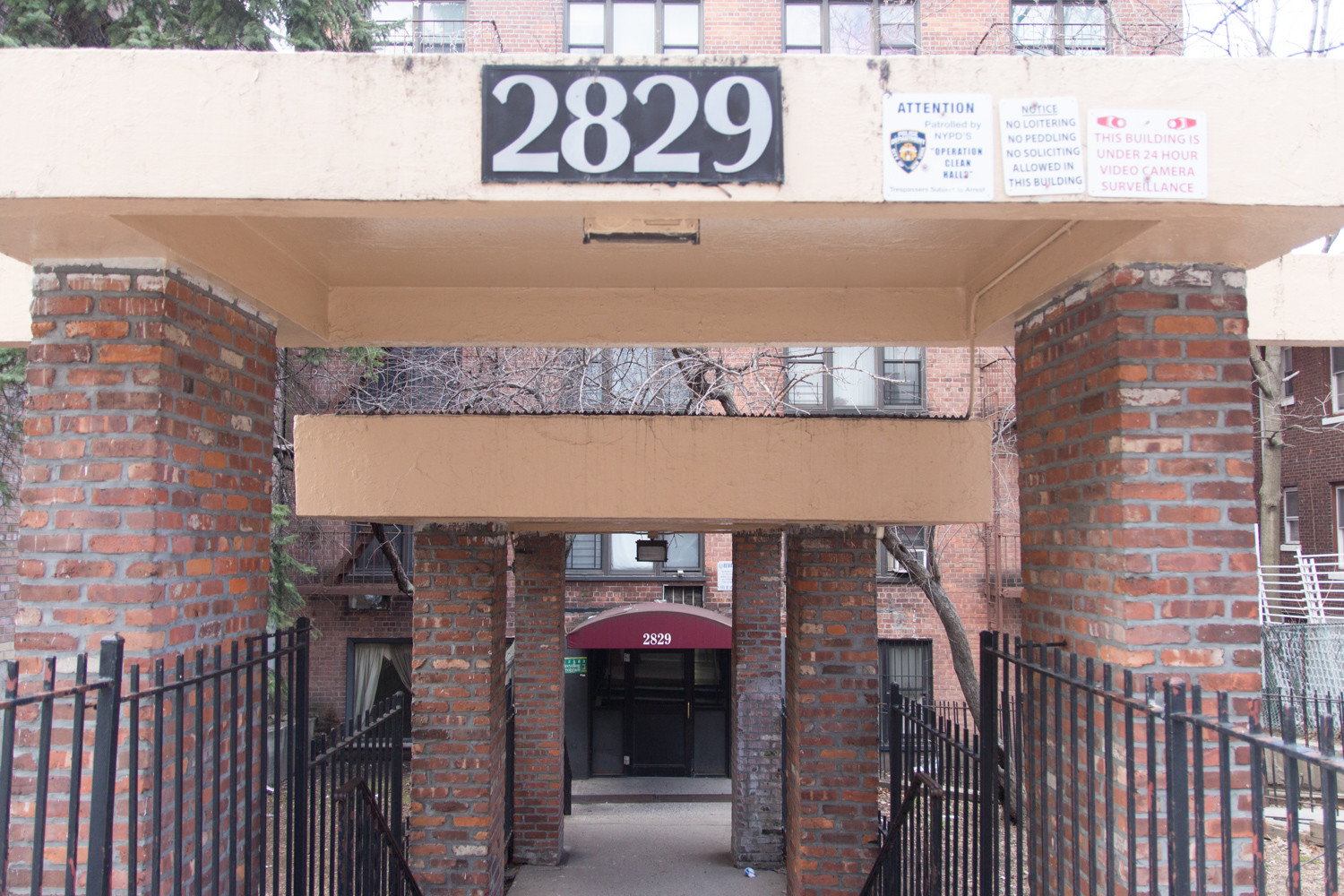 While initially a sprawling garden district, recent development in Kingsbridge and Marble Hill has been of the higher density variety, including apartment buildings such as this one at 2829 Sedgwick Ave. In a move to preserve the remaining character of the community, Community Board 8 wants the area downzoned.