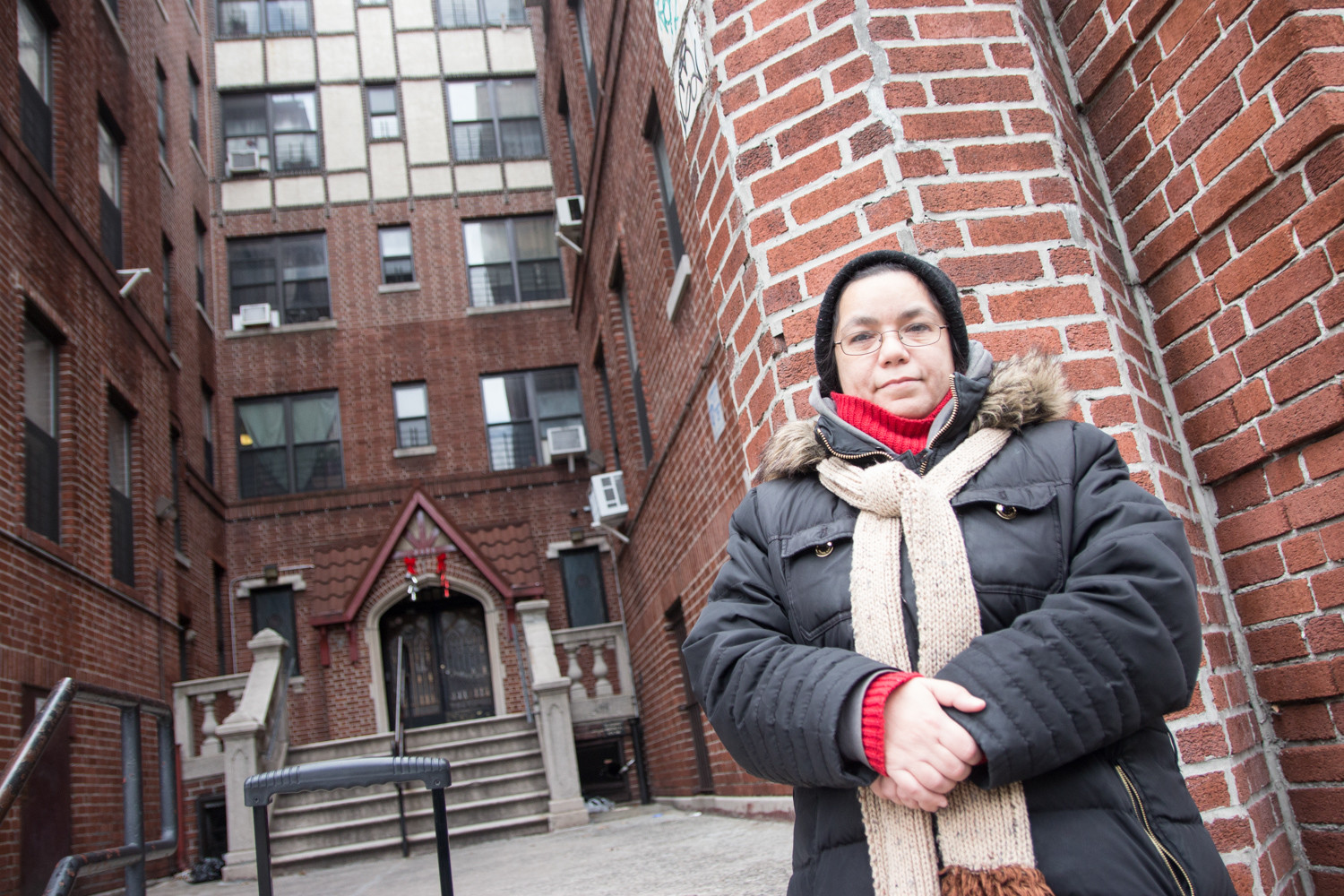 Marisol Jimenez, a former resident of Bedford Park, was threatened with eviction after a new developer sought to construct a multi-story apartment building on top of her two-story home in Bedford Park. Now living in Kingsbridge Heights, Jimenez supports Community Board 8's efforts to downzone her home and prevent a repeat of what happened in Bedford Park.