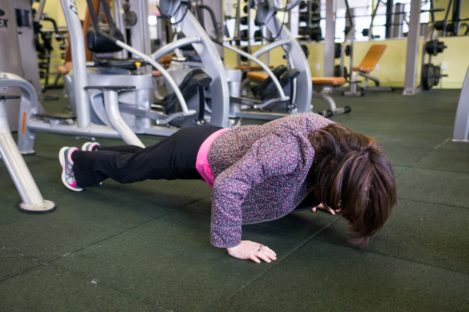 'People think I'm this weak little thing, but when I say that I can exercise, people don't believe me,' said Judy Fettman, an Ashkenazi Jewish woman who was diagnosed with a genetic disorder, familial dysautonomia, when she was nine months old. Fettman has always loved to exercise, saying it improves her quality of life. 'I try to find something fun every day.'