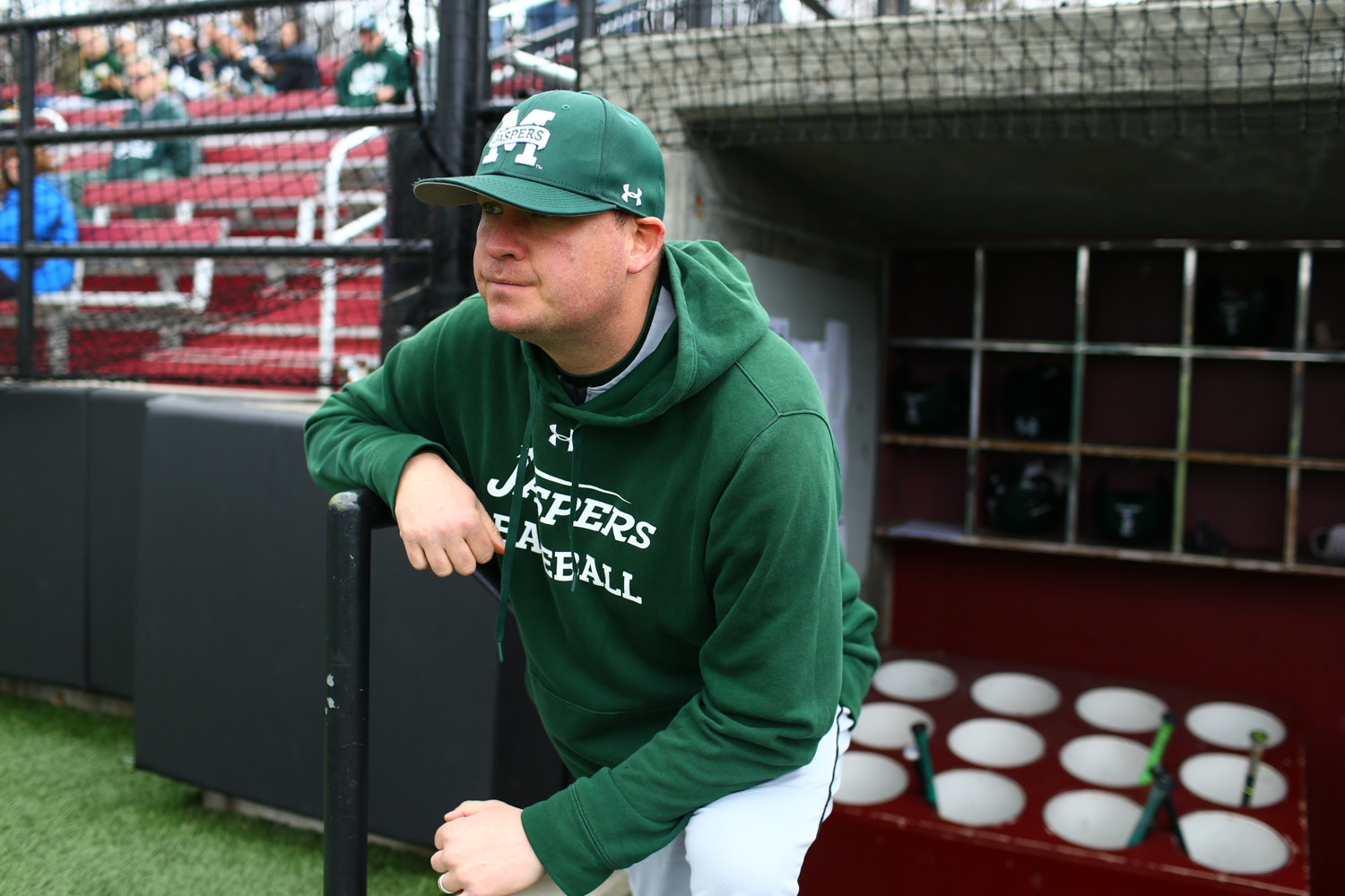 New Manhattan head baseball coach Mike Cole has designs on returning the Jaspers to contender status in the Metro Atlantic Athletic Conference.