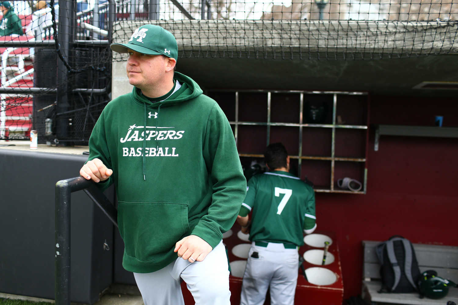 After five seasons at MAAC-rival Fairfield, Mike Cole has returned to Manhattan College to turn around a once-dominant baseball program.