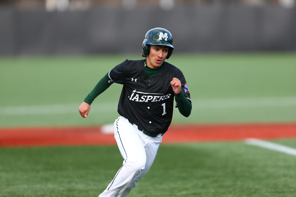 Manhattan freshman Will Trochiano, among the team and conference leaders in a variety of offensive categories, saw his season cut short last week with a fractured elbow.