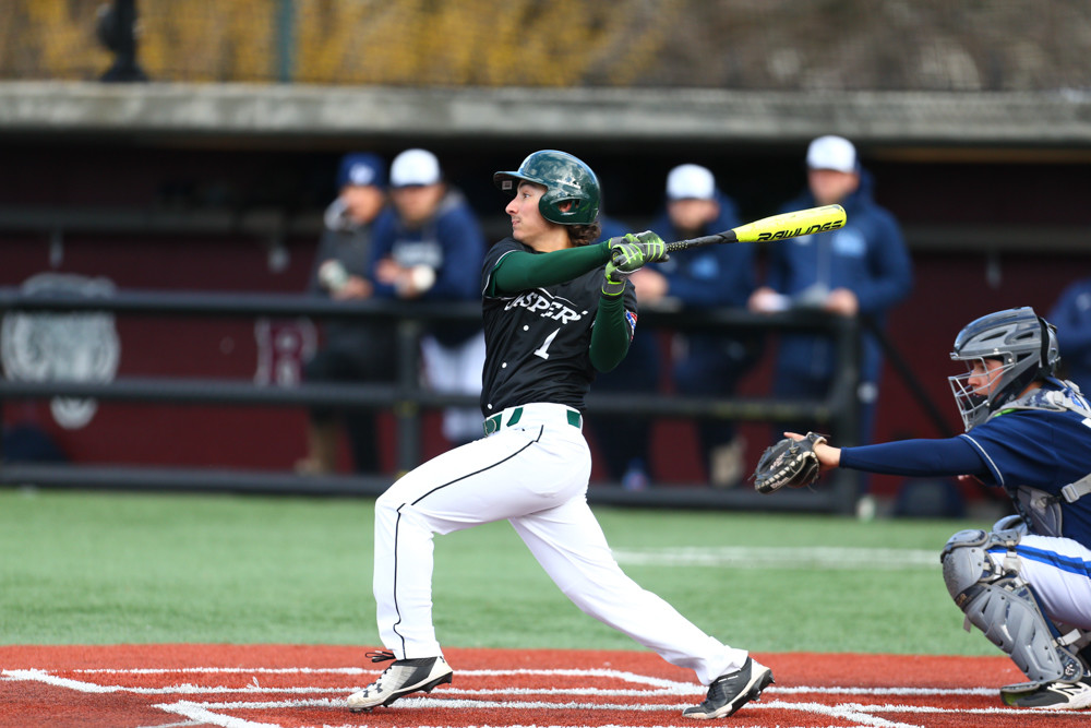 Manhattan freshman second baseman Will Trochiano saw his promising season cut short by a fluke injury last week versus Fordham.
