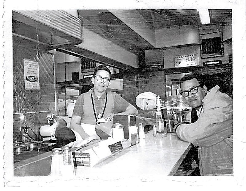 Jimmy Sanchez, left, knew all of his regulars at his restaurant, Jimmy's Luncheonette, on the corner of West 259th Street and Riverdale Avenue.