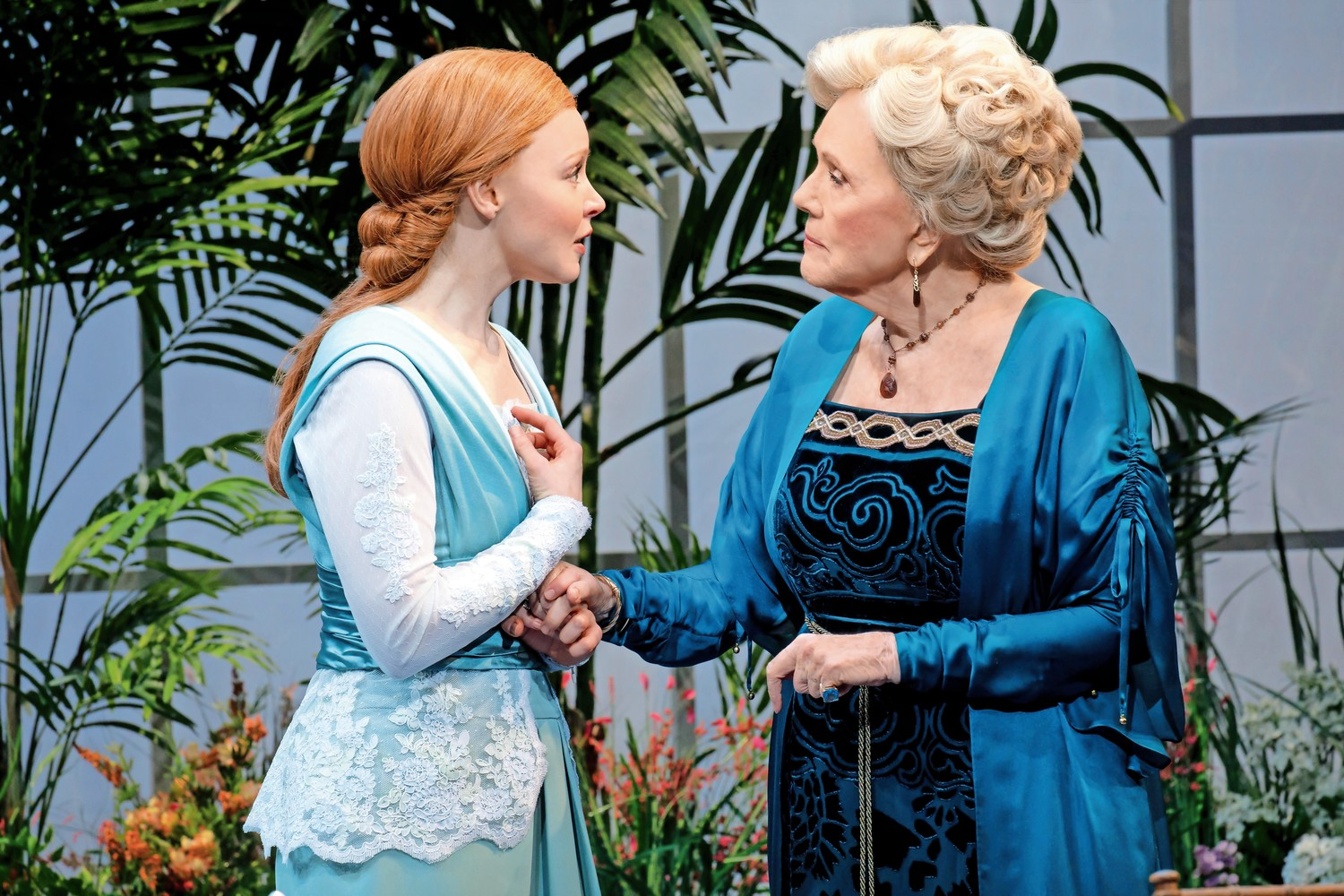 Lauren Ambrose of 'Six Feet Under' fame shines as the golden-voiced Eliza Doolittle, while 'Game of Thrones' fans get their own treat with Diana Rigg as Mrs. Higgins in the Lincoln Center's production of 'My Fair Lady.'