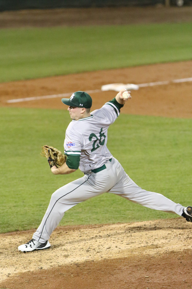 In sophomore right-hander T.J. Stuart, Manhattan College could very well have the MAAC pitcher of the year, according to Jaspers coach Mike Cole.