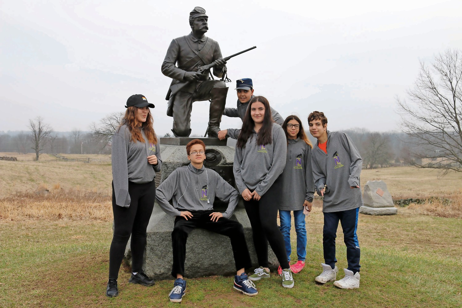 A trip to Gettysburg National Military Park brought together students from across grades at IN-Tech Academy. They traveled to the park to learn more about the Civil War and American history.