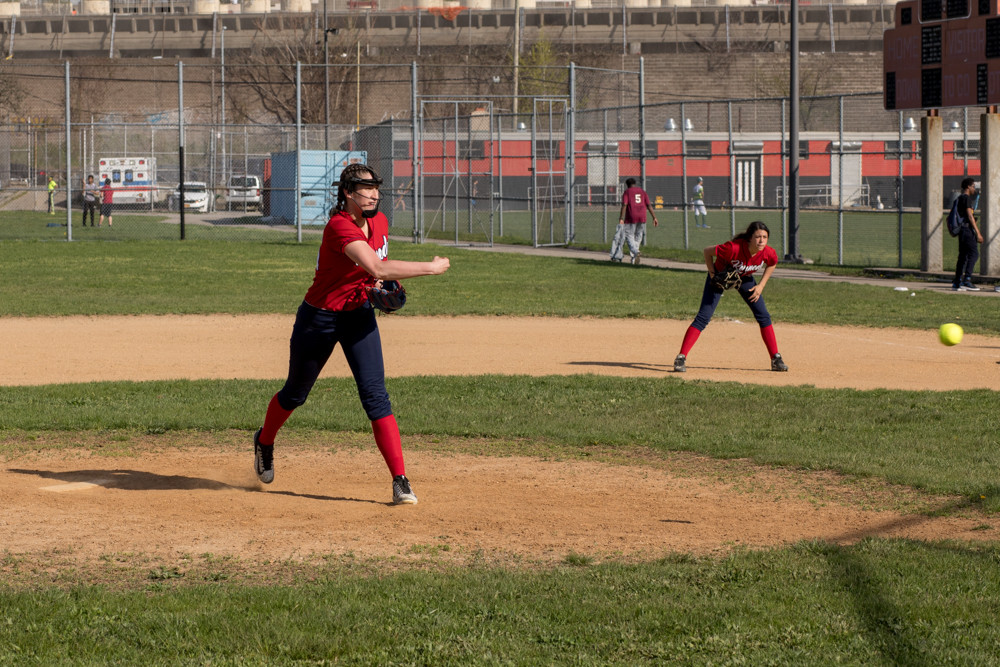 Kennedy's Stacy Hernandez logged three wins and struck out 25 batters as JFK improved to 8-1 on the season.