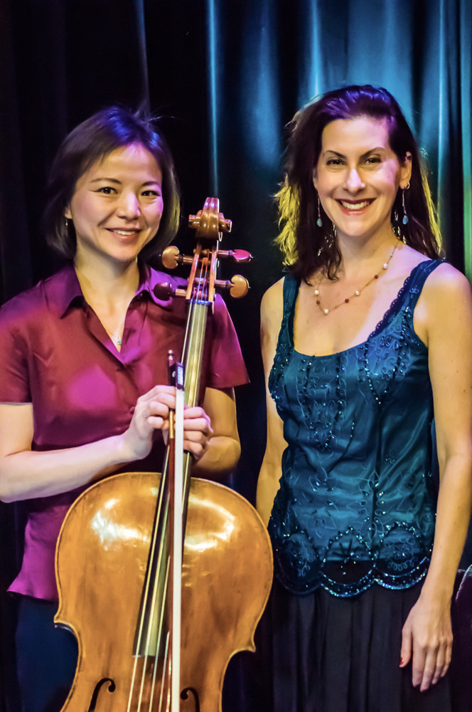 Ilana Davidson and Jing Li are the duo behind ClassicalCafé, a music group that performs regularly at An Beal Bocht Café.