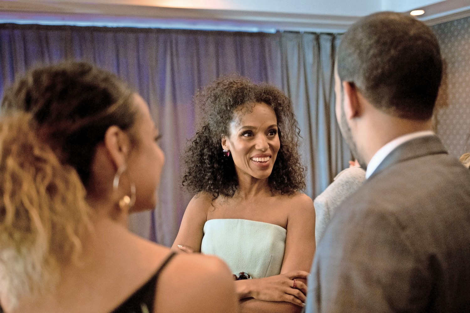 Kerry Washington attends Lehman College's 2018 gala. The actress received the Lehman Award for Artistic Achievement.